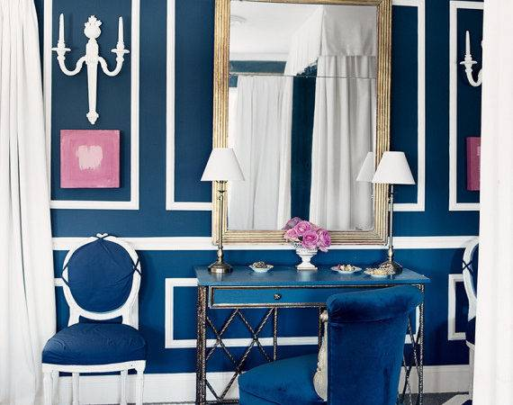 Mediterranean Blue Rooms Prove Only Color