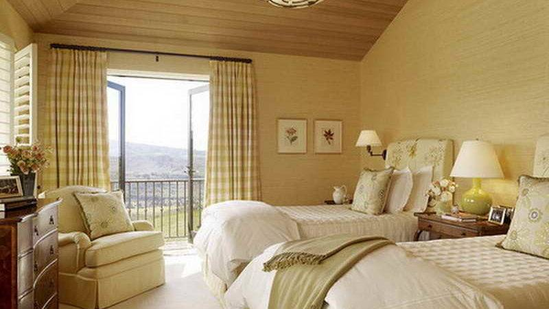 Mediterranian Spare Bedroom Ideas Double Bed Home