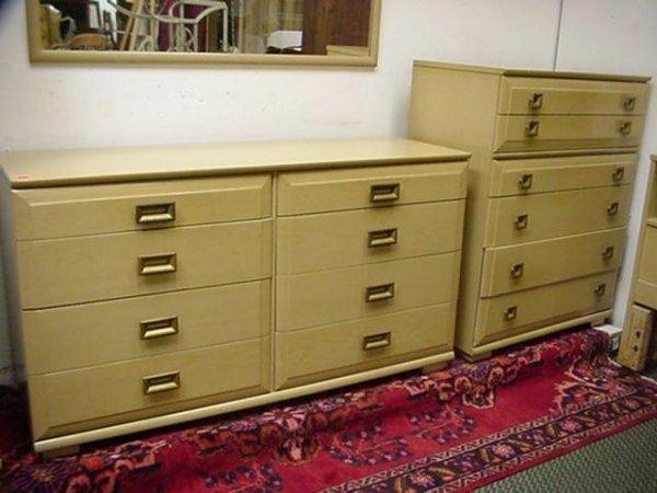 Mengel Furniture Piece Bedroom Set Lot