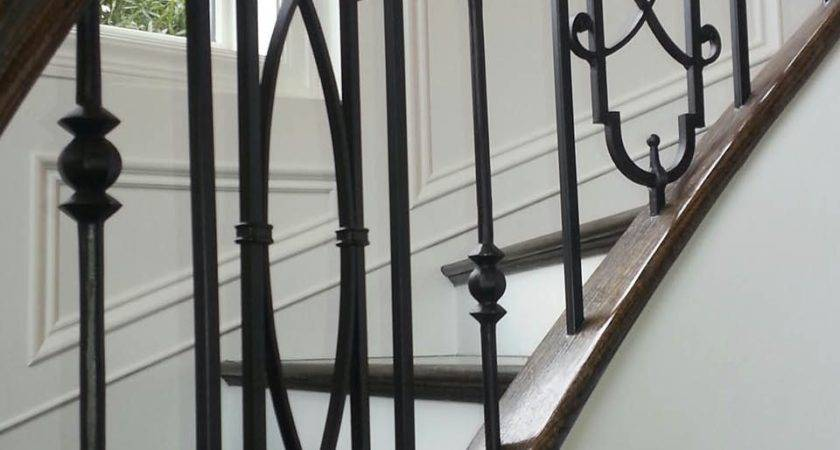 Metal Baluster Custom Stairs Artistic