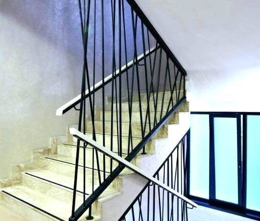 Metal Handrails Stairs Lovely