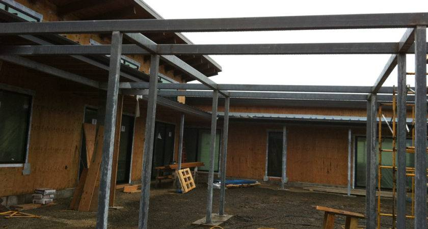 Metal Pergola Amazing Steel Pergolas All Design