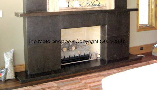 Metal Shoppe Decorative Fireplace Features Made