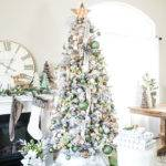 Metallic Winter Wonderland Christmas Tree