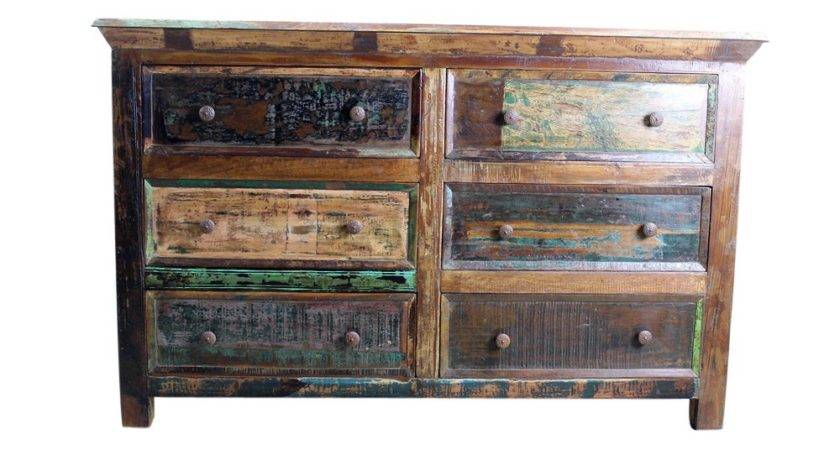 Mexicali Rustic Wood Dresser Pine Furniture Mexican