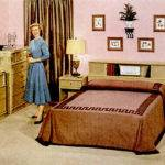 Mid Century Living Early Bedrooms