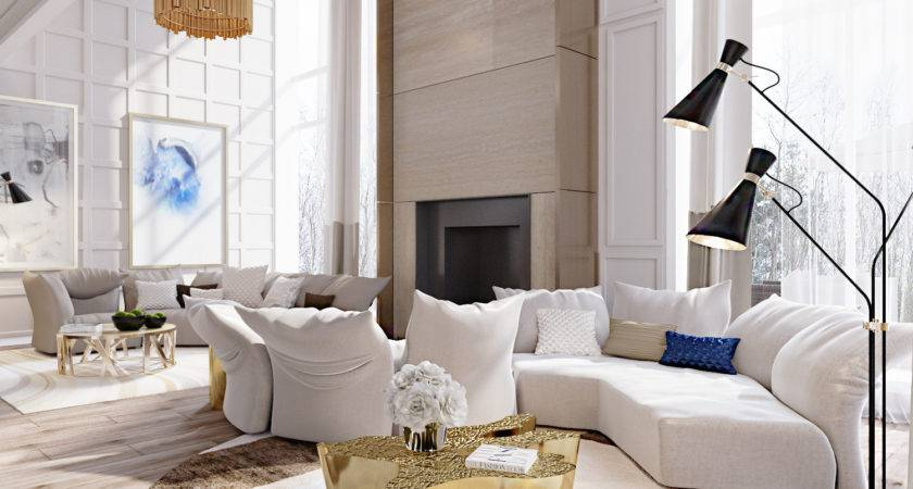 Mid Century Modern Apartment Living Room Designs