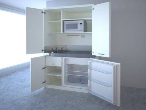 Mini Studio Apartment Kitchen Units