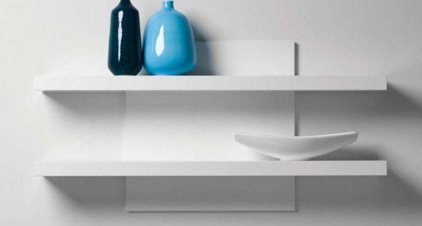 Minimalist Ikea Wall Shelf Unit Glass Shelves