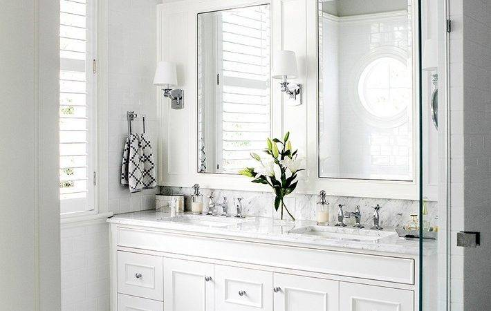 Minimalist White Bathroom Designs Fall Love