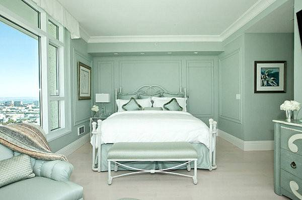 Mint Green Penthouse Bedroom Decoist