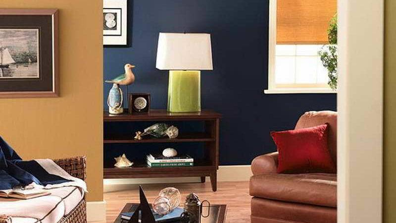 Miscellaneous Two Color Painting Ideas Rooms Blue