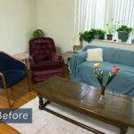 Mismatched Living Room Furniture