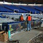 Mlb Miami Marlins Completes Aquarium Installation Fish