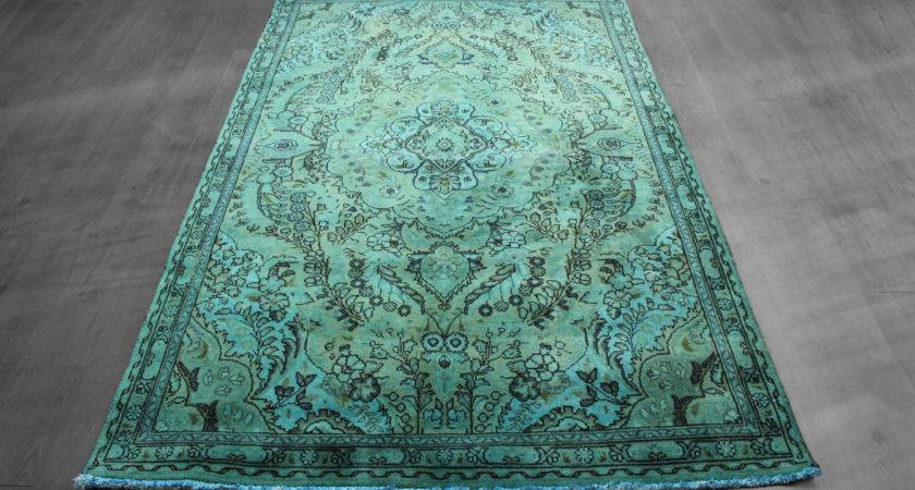 Model Overdyed Oriental Rugs Cool