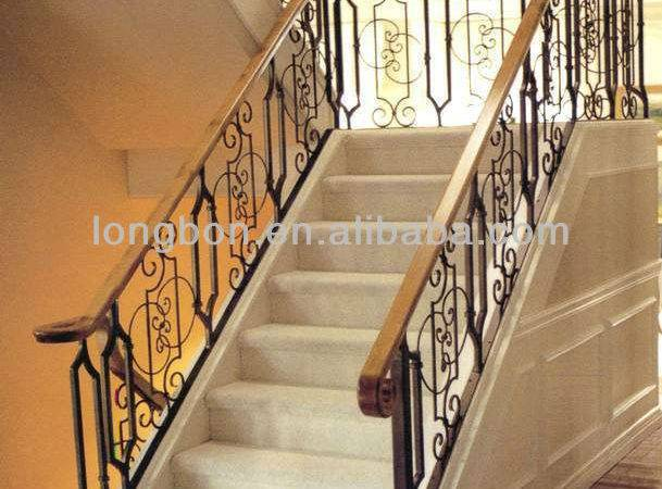 Modern Artistic Wrought Iron Stair Railing Buy