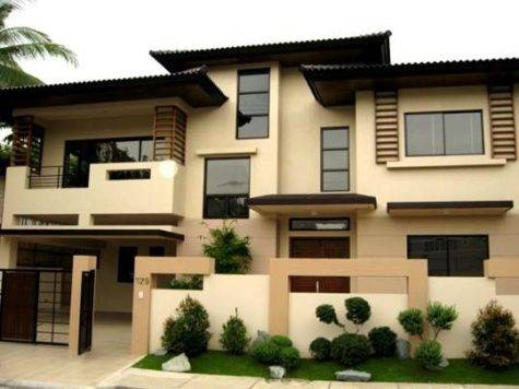 Modern Asian Exterior House Design Ideas Exotic