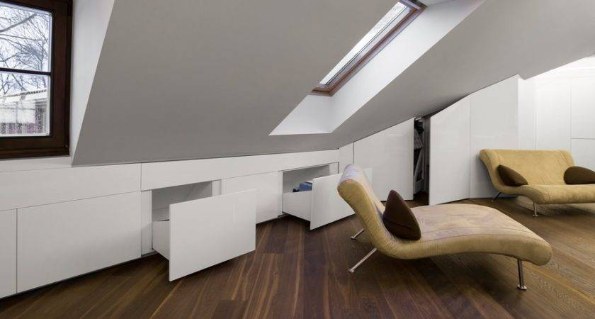 Modern Attic Apartment Vilnius Disclosing Views