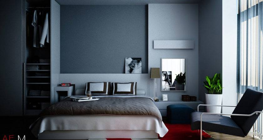 Modern Bedroom Blue Ideas