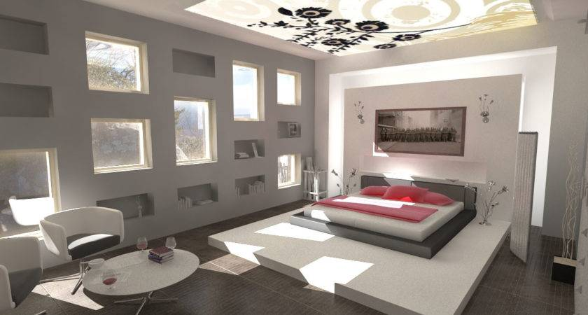 Modern Bedroom Design Ideas Photograph Decorations Minima