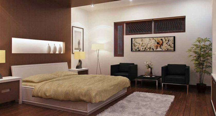 Modern Bedroom Designs Brown Color