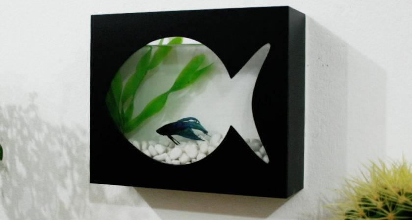 Modern Betta Fish Tank Aquarium Wall