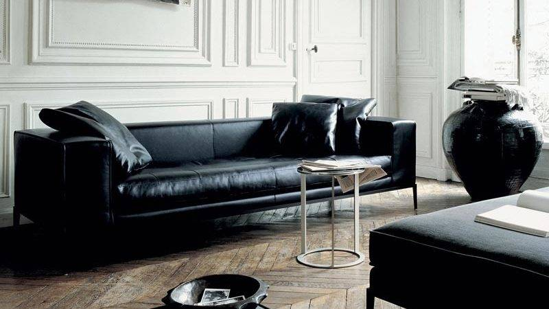 Modern Black Leather Furniture Couch Sofa Ideas