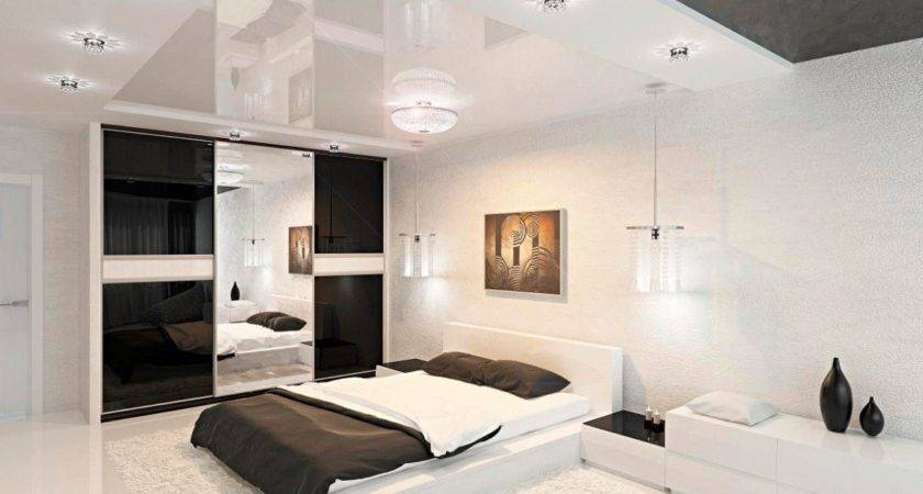 Modern Black White Bedroom Interior Design Ideas