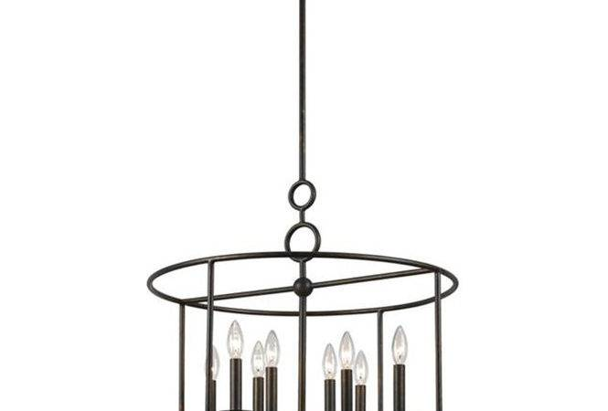 Modern Cage Wrought Iron Chandelier Light Shades