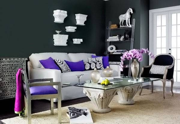 Modern Chic Living Room Designs Charming Look