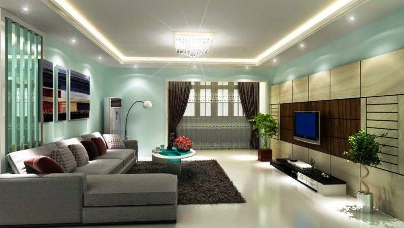 Modern Color Interior House Wall Painting Design