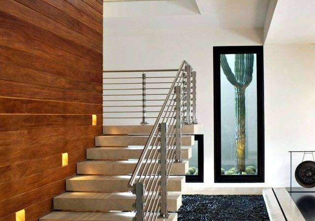 Modern Concrete Building Stairs Ideas Interior