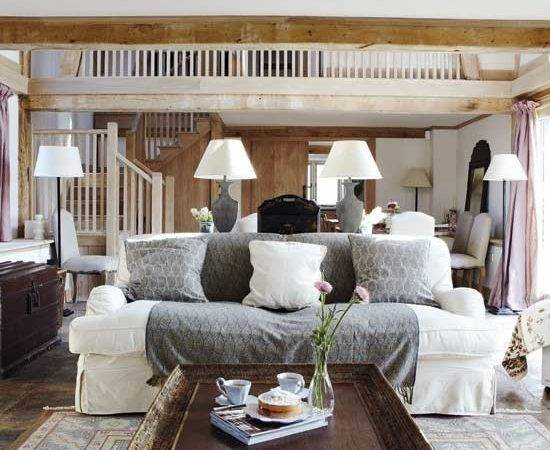 Modern Country Living Room Designs