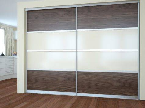 Modern Dressing Room Fitted Wardrobes Sliding Doors
