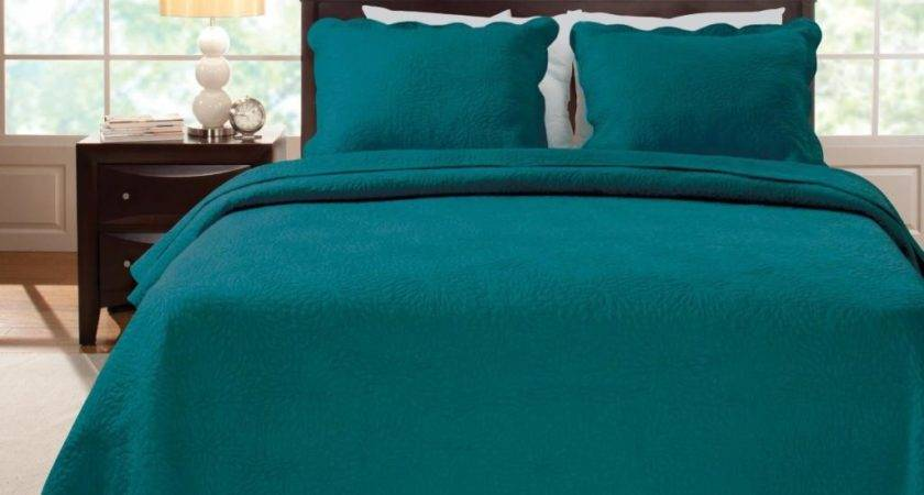 Modern Elegant Bedroom Dark Teal Bedding Atzine