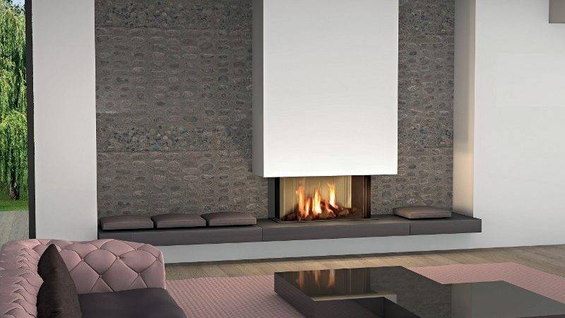 Modern Fireplaces Stunning Indoor Outdoor Spaces