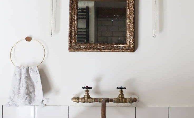 Modern French Bathroom Mirror Upon House Idea