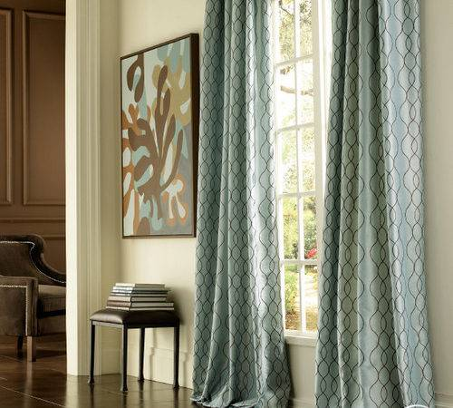 Modern Furniture New Living Room Curtain