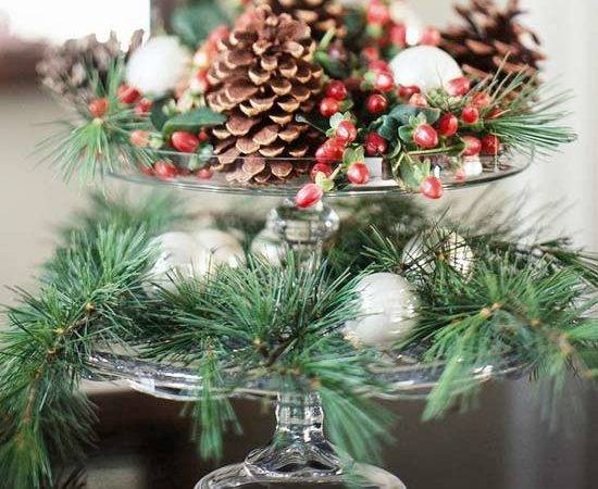 Modern Furniture New Simple Christmas Centerpieces Ideas