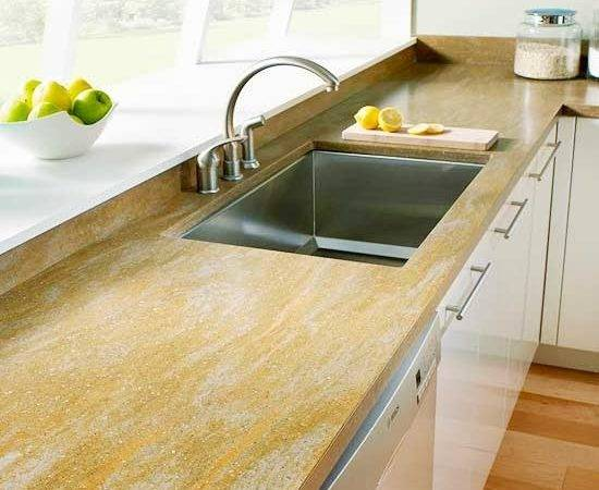 Modern Furniture Stylish Stone Kitchen Countertop Ideas