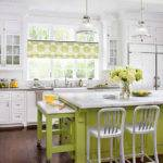 Modern Furniture White Kitchen Decorating Ideas Bhg