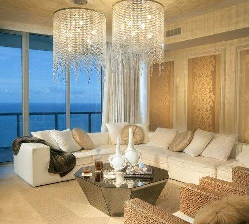 Modern Glamour Interior Design Houzz