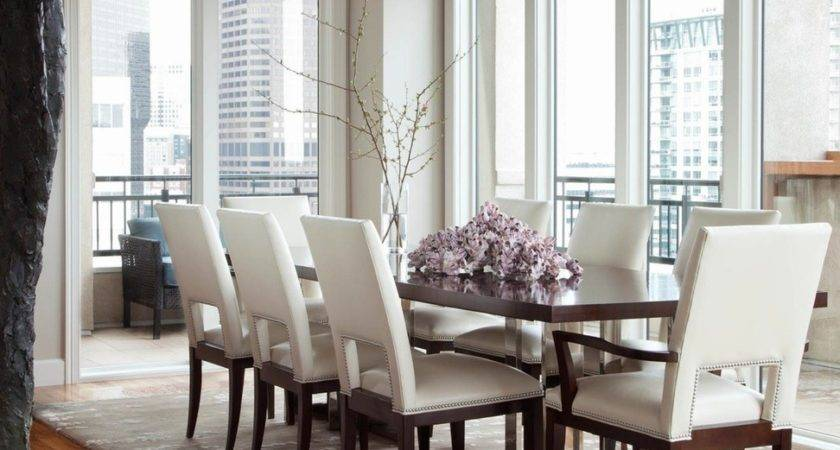 Modern Glamour Meets Dining Room Interior Design Ideas