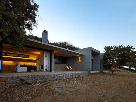 Modern Greek House Design Exploring Traditional