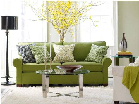 Modern Green Living Room Design Ideas Home Interiors