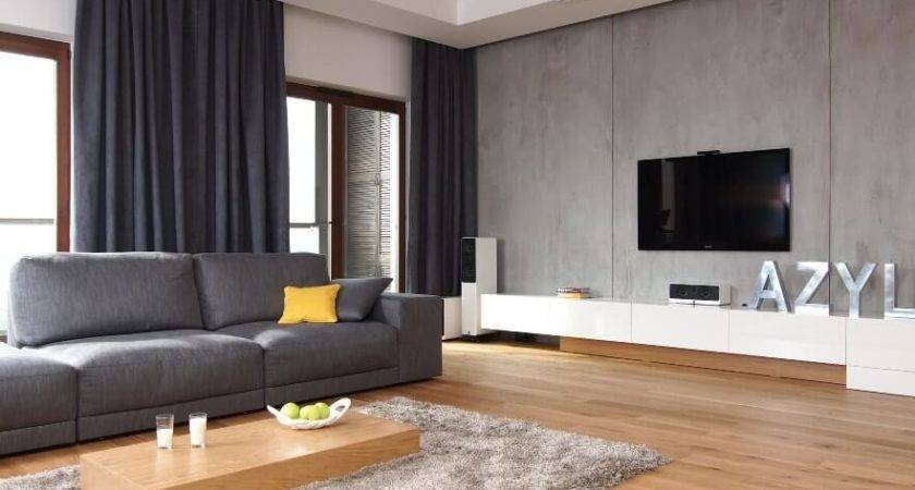 Modern Grey Living Room Interior Design Ideas Https