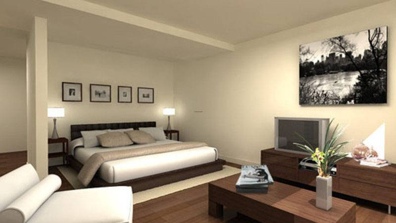 Modern Guest Bedroom Furniture Design Concept