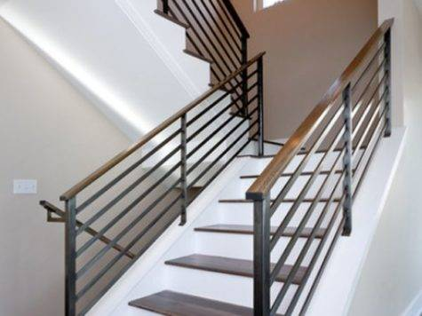 Modern Handrail Designs Make Staircase Stand Out