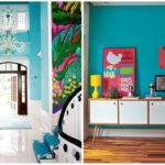 Modern Interiors Turquoise Color Home Interior Black