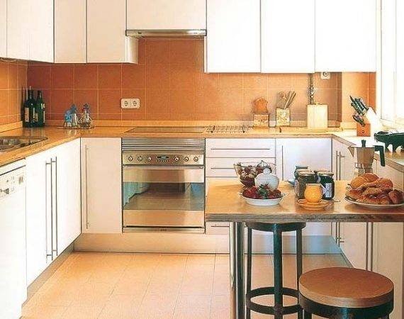 Modern Kitchen Designs Small Spaces